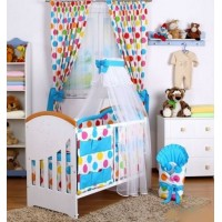 Baby Nellys 10-dielny set Baby Dreams Bubble - 140x70
